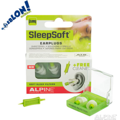 Alpine SleepSoft bouchons de protection sommeil