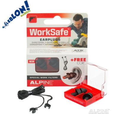 Alpine WorkSafe bouchons de protection pour le travail
